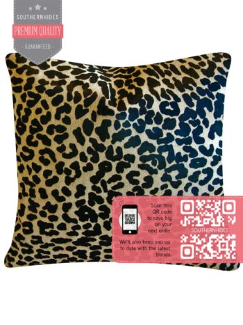 Leopard Cowhide Pillow