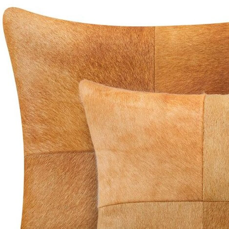 Solid Cowhide Pillows